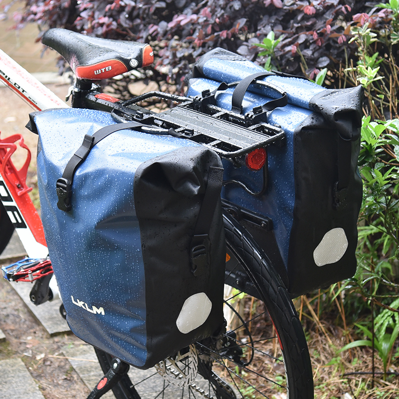 LKLM bicycle After a long waterproof shelves after carry bag bag station wagon car pack cycling equipment 27 l roswheel mtb bike bag 10l full waterproof bicycle saddle bag mountain bike rear seat bag cycling tail bag bicycle accessories