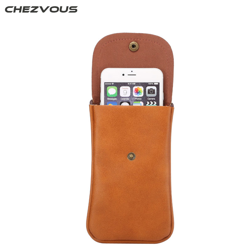 Universal NEW Outdoor Wallet Mobile Phone Bag Outdoor Cover Case for Multi Phone Model Below 5.7 Pouch Scalable Strap XCZ02 ...