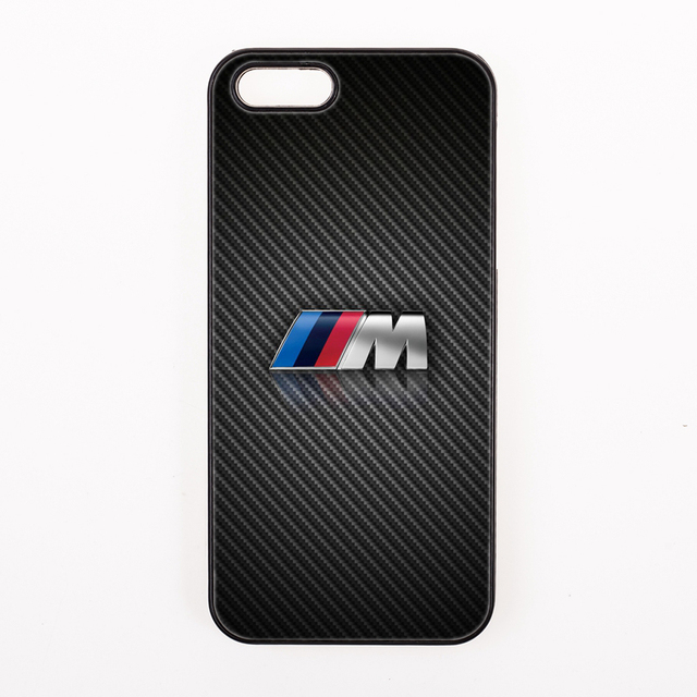 Cool Black For Bmw M Series Symbol Cover Case For Iphone 4 4s 5 5s