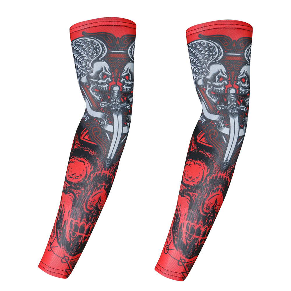 2Pcs/Set Cycling Hiking Arm Sleeves Sun UV Protection Bike Bicycle Outdoor Games Sports Cycling Armwarmers