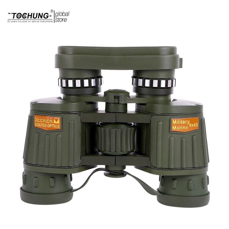 TOCHUNG Waterproof powerful Binoculars 8x42 telescope Military Hd Professional Hunting Camping High Quality Vision night View стоимость