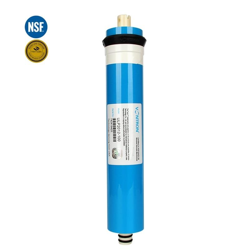 Vontron 100 gpd RO Membrane ULP2012-100 Reverse Osmosis Membrane for Water FilterVontron 100 gpd RO Membrane ULP2012-100 Reverse Osmosis Membrane for Water Filter