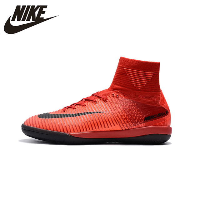 287bc00cf Nike MERCURIALX PROXIMOII Men Football Boots TF High Ankle FG Soccer Shoes  Turf Superfly indoor 831976 034 39 45-in Soccer Shoes from Sports    Entertainment ...