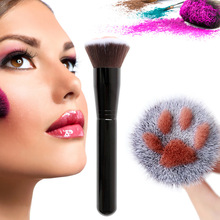 NEW Cat Claw Paw Makeup Brush Cute Foundation Long Lasting Concealer Blush Tool