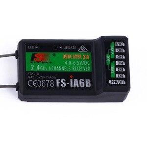 Image 3 - Receptor FlySky FS iA6B iA6B 2,4G 6CH AFHDS para FS i10, transmisor FS i6, piezas de carreras FPV