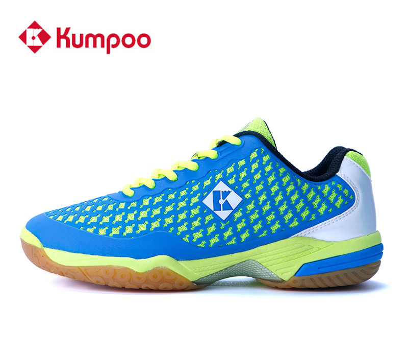 Kumpoo Professional Badminton Shoes for Men and Women Wear resisting Sneakers KH 38 Super Light breathable