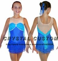 Custom Ice Figure Skating Dress For Kids Fashion New Brand Competition Figure Skating Dresses Crystal DR3643
