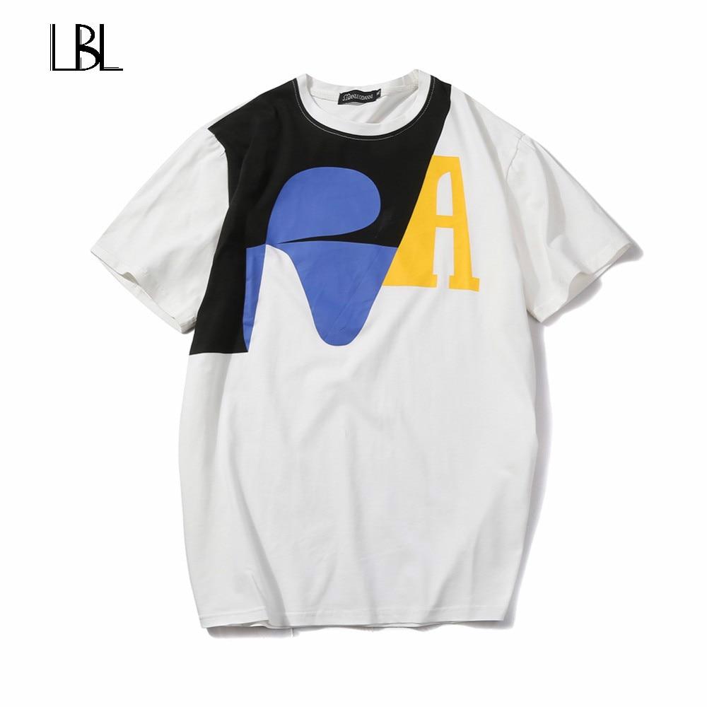 Europe Size Summer Men T Shirts 2018 New Fashion Tops Tees Short Sleeve T Shirt Mens Clothing Casual Tee Shirts Hombre T-shirts