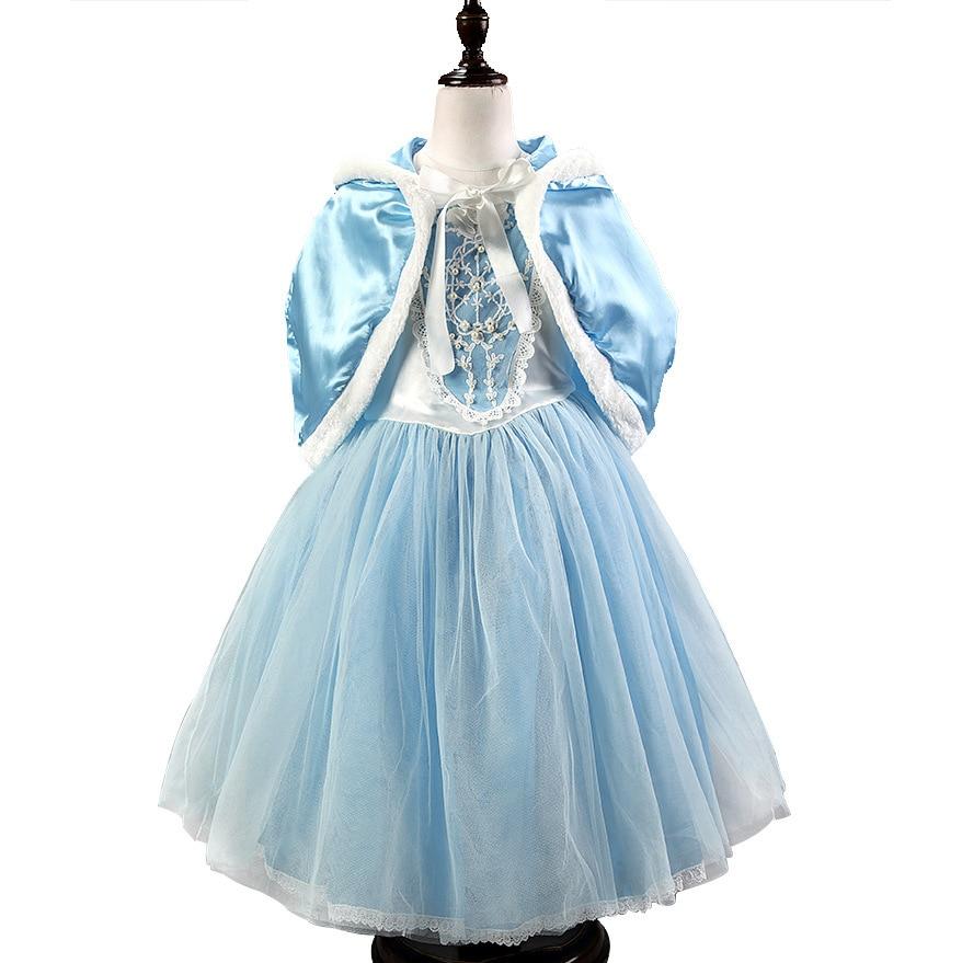 Mother & Kids Custom Anna Elsa Girls Princess Dress For Girl Kids Party Vestidos Baby Children Cosplay Cloth Wedding Pincess Children Dresses