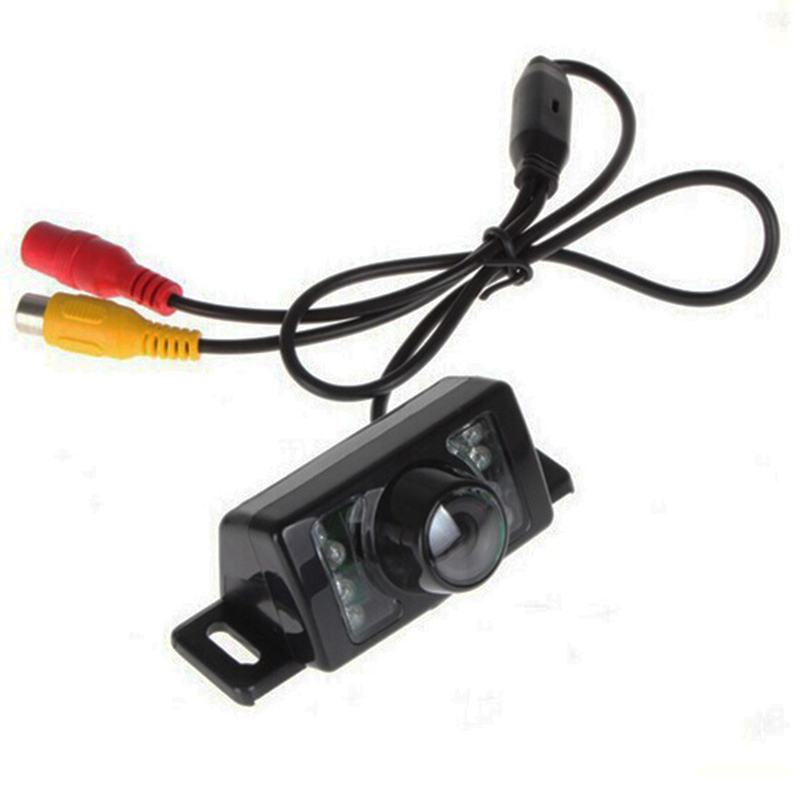 Auto Parking Assistance 4.3 Inch TFT LCD Car Rearview Mirror Monitor With 7 IR Night Vision Car Rear View Reverse Camera