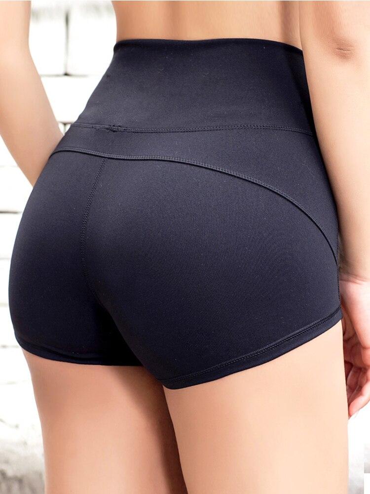 2018 Eshtanga Women Sports Shorts Yoga High Rise Shorts Running Short Quick Dry Exercise Workout Stretch Training Shorts