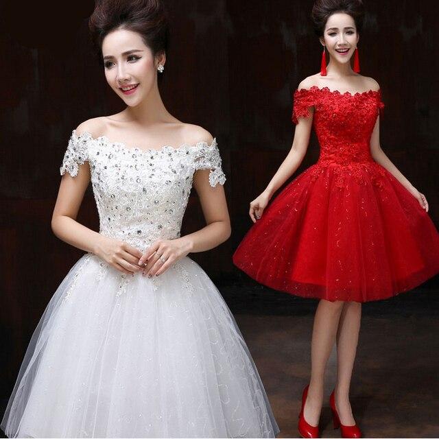 Girls Short Formal Ivory White Ball Gowns 8th Grade Sweet 16 Dresses