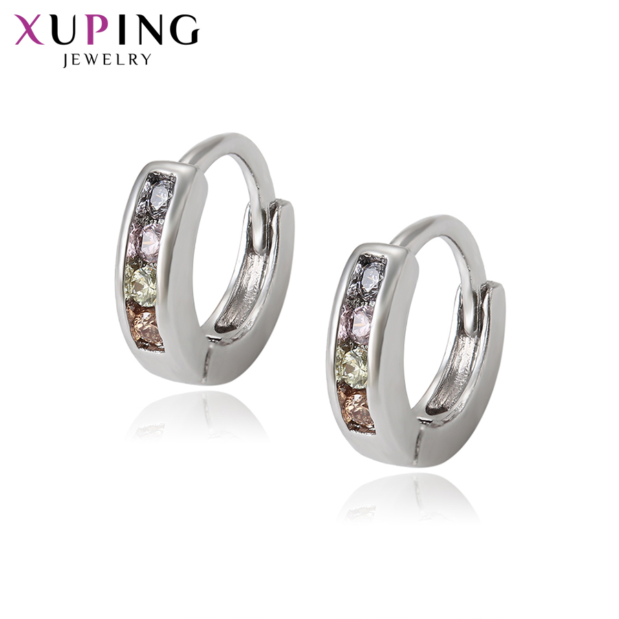 11.11 Deals Xuping Jewelry Simplicity Sweet Little Fresh Earrings for Children Girl Christmas Day Thanksgiving Gift S119.3-97189