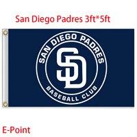 San Diego Padres USA Major League Baseball MLB Flag 3ft 5ft