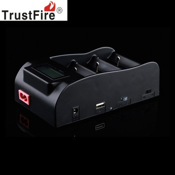 TrustFire TR-008 Lcd-scherm 3.0 V 4.2 V 18650 25500 26650 26700 32650 Acculader