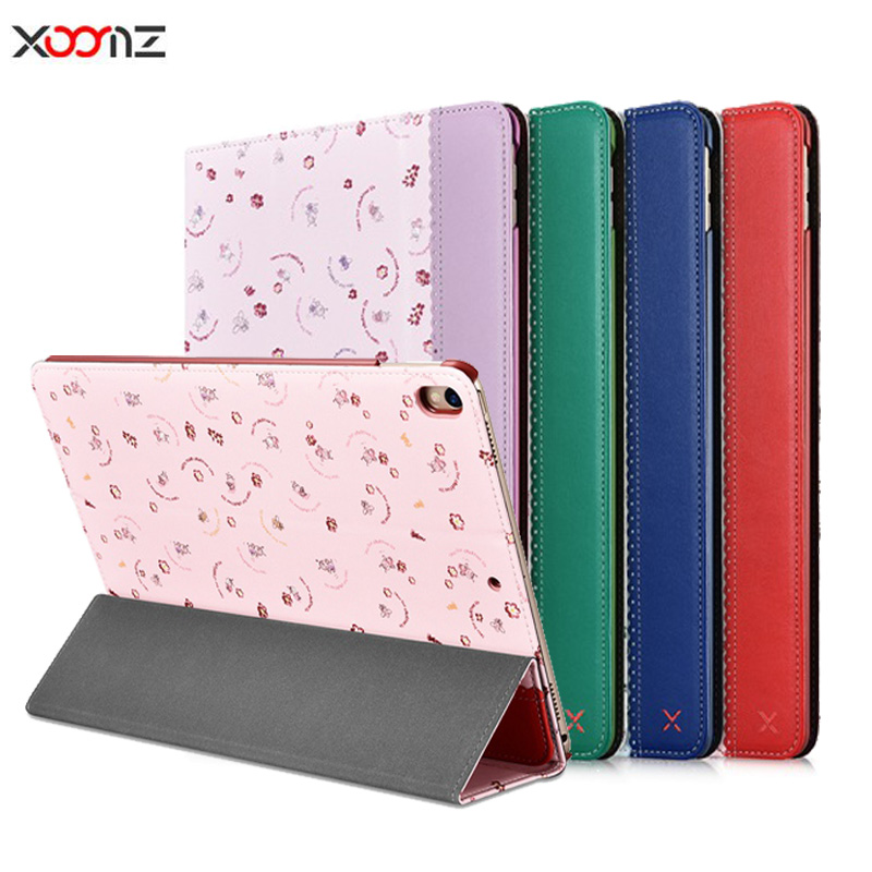 Xoomz For iPad Pro 10.5 Case Luxury Ultra Slim Magnetic Smart Case Flip Stand PU Leather For iPad pro 10.5 Tablet Bags Cases luxury slim with magnetic flip pu leather stand case for apple new ipad 9 7 2017 release tablet protective smart painting cover