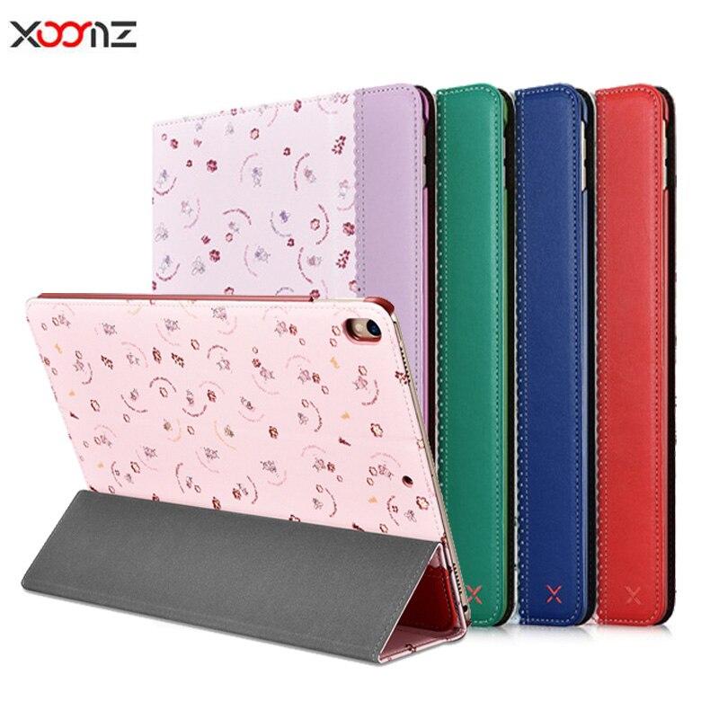 Xoomz For IPad Pro 10 5 Case Luxury Ultra Slim Magnetic Smart Case Flip Stand PU