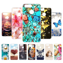 3D DIY Painted Phone Case For ZTE Blade V9 Vita Case Silicone Coque Funda ZTE V9 V10 Vita V8 Lite V7 Mini V6 Back Cover Case защитное стекло luxcase для zte blade v9 vita