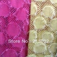 South Korea plush fabrics cotton lace Swiss gridding curtain fabric patchwork fabric high quality curtains cloth fur felt abrics