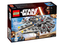2016 New Arrivals LEPIN Star Wars Millennium Falcon Building Blocks Model Kit Buildable Figures Compatible Legoe Starwars toy