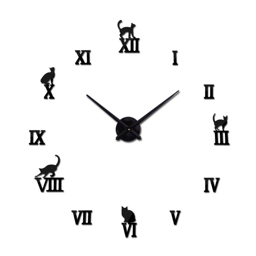 Nový skutečný křemen prodej kovové moderní hodinky velké 3d diy nástěnné hodiny domácí výzdoba dárek tiché hodiny hodinky nástěnné samolepky
