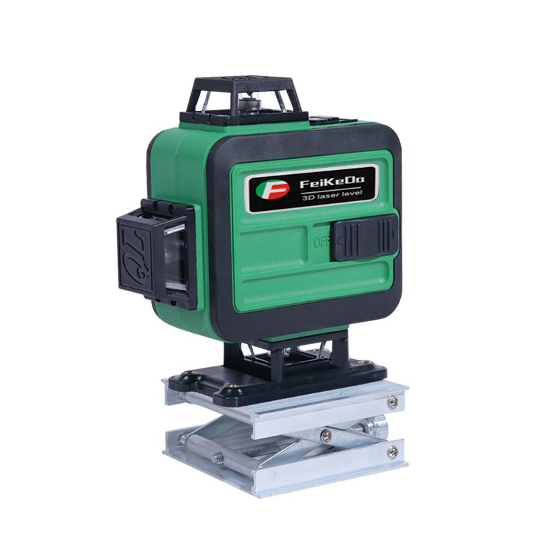 16 lines 4D Self Leveling 360 Horizontal And Vertical Super Powerful rotary Laser level green Beam