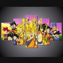 Dragon Ball Z Goku Saiyan Poster Unframed
