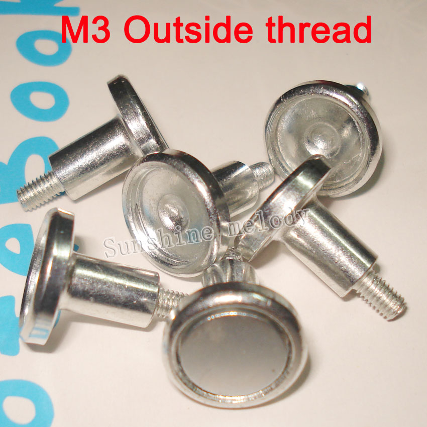 M3 Outside Thread LED Display Magnet Screw, Indoor Full Color LED Display Module Magnetic Screw.