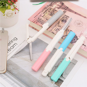2018 New Style Scissors Portable Stationery Scissors Office And Student Paper Cutting Tools