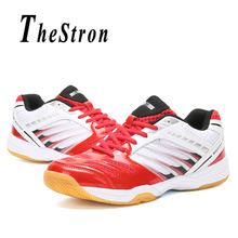 d033afcf0 Couples Badminton Shoes Red Blue Fitness Woman Sneakers Spring Autumn  Trainers Shoes Men Indoor Sport Shoes