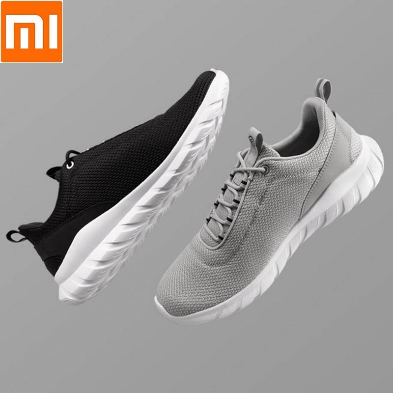 Xiaomi FREETIE Sports Shoes Lightweight Elastic Knitting Shoes Breathable Refreshing City Running Sneaker EVA sole For