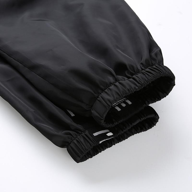 HOUZHOU Harem Pants Trousers Women Full Length Loose Jogger Mujer Sporting Elastic Waist Black Casual Combat Streetwear Fashion 49