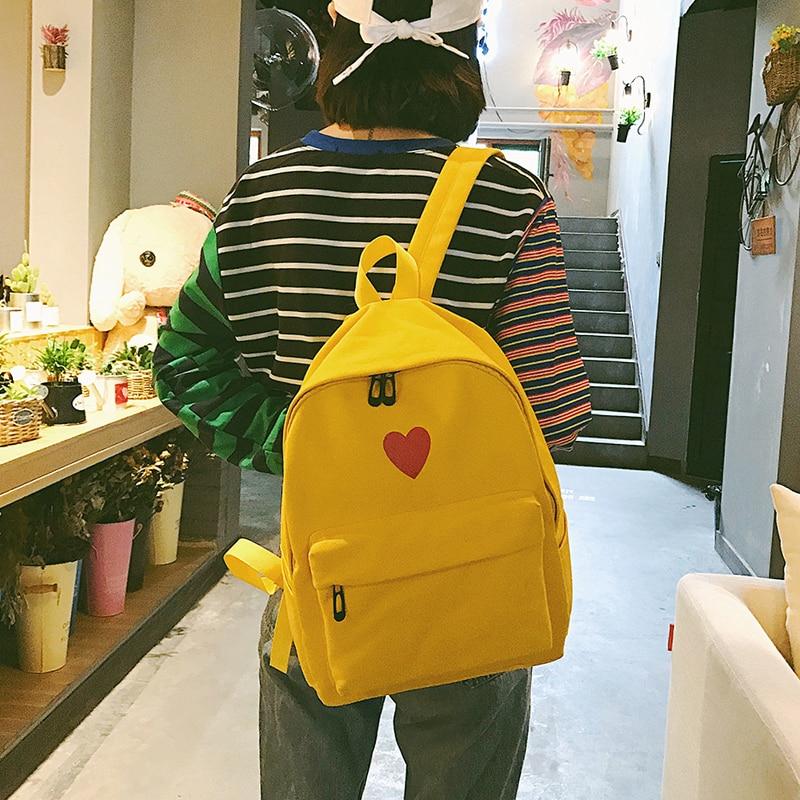 2018 г. холст Япония Стиль минимализм best рюкзак для подростков девочек женского путешествия для отдыха Для женщин рюкзак плеча BagZ228