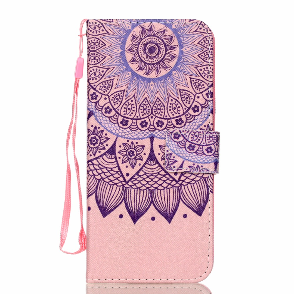 JOVO For Samsung Galaxy S9 s 9 P Fashion color Prismatic Flower Leather phone Case For Samsung S9 s 9 PLUS back cover case