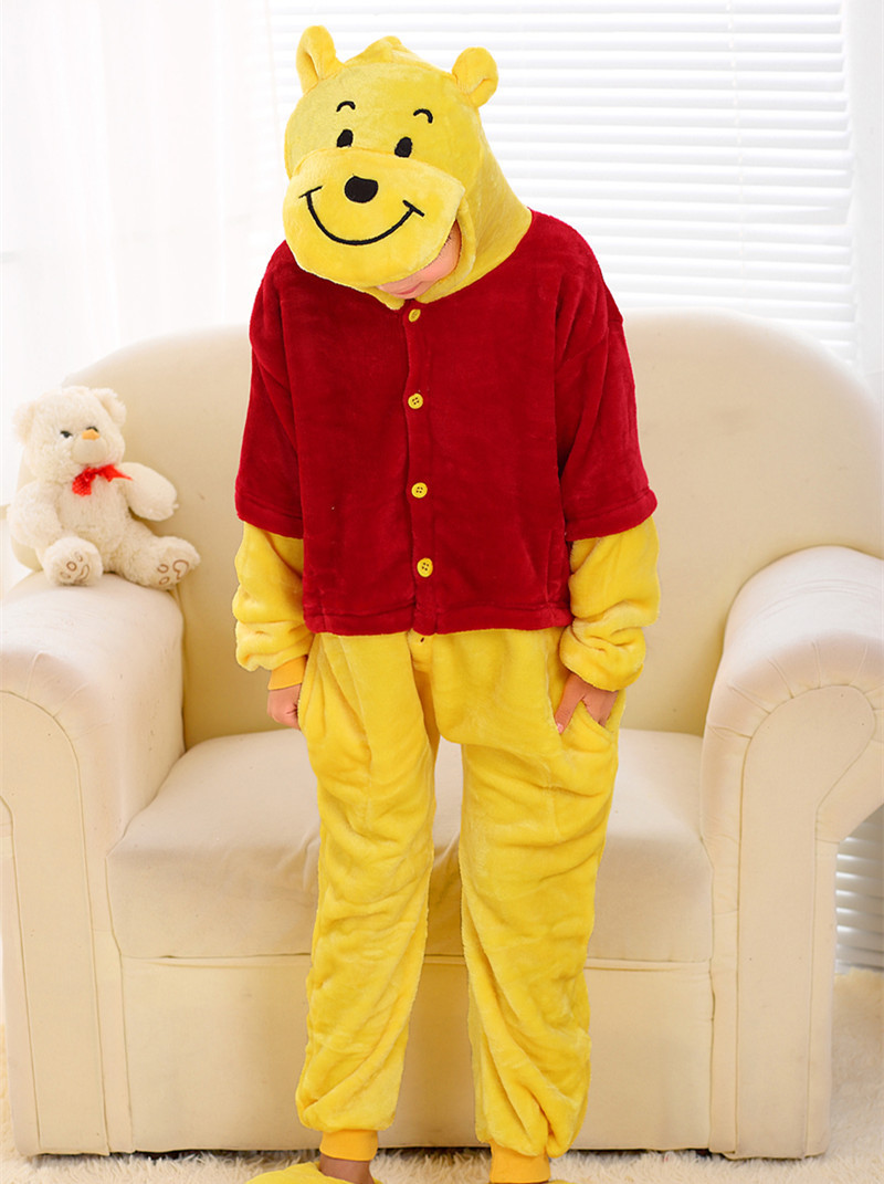Little Bear Cartoon Costumes Cosplay Jumpsuit Costume For font b Children b font Kids Onesie font