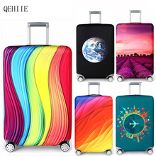 QEHIIE trolley case dust cover 2018 Travel Organizer Cases Front cover Child Suitcase Cover Organizadores Travel Accessories