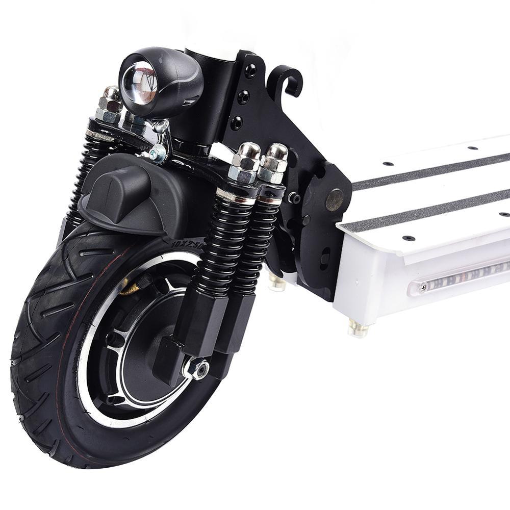 10 pouces Scooter électrique 48 V/22AH 60 km/h 1200 W alliage d'aluminium charge moto électrique coup de pied auto équilibrage Scooter adulte - 6