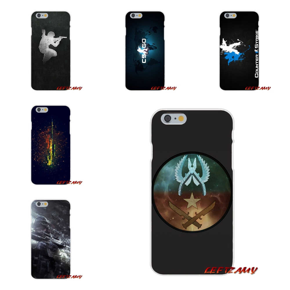 Half-wrapped Case Cs Go Gun Game On For Xiaomi Mi6 Mi 6 A1 Max Mix 2 5x 6x Redmi Note 5 5a 4x 4a 4 3 Plus Pro Accessories Phone Cases Covers