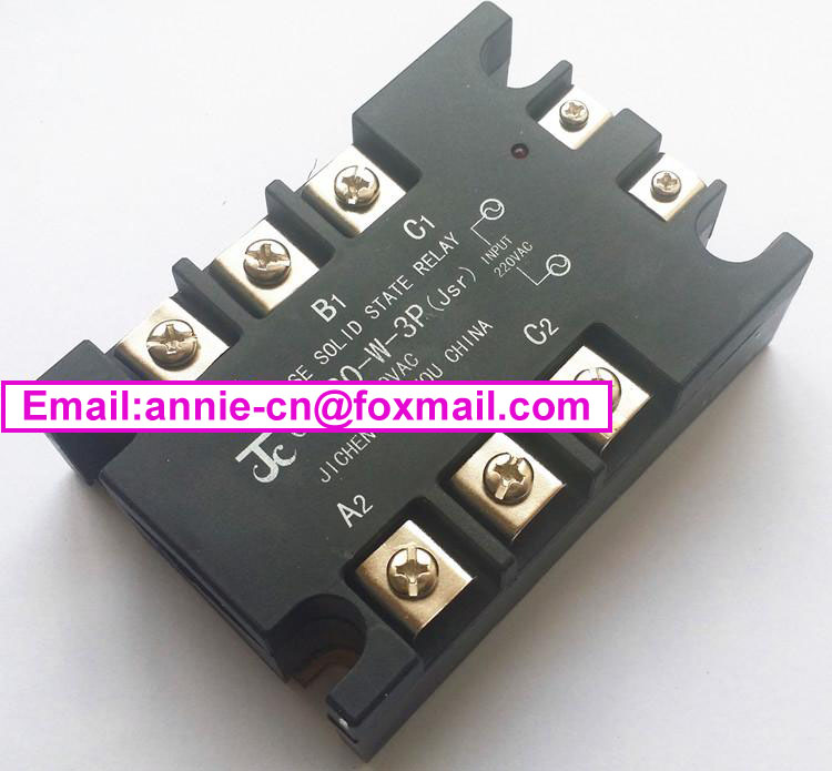 ФОТО New and original GJH120-W-3P(Jsr)  JICHENG 3-PHASE SOLID STATE RELAY  120A   380VAC
