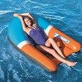 165 см надувной лежачий поплавок для бассейна  плавательный матрас  водная кровать  спинка  плавающий плот для взрослых детей  Детский бассей...