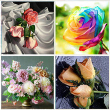 5D DIY Diamond Painting Full Colorful flower  Embroidery Set Mosaic Cross Stitch picture Rhinestone Home Decoration