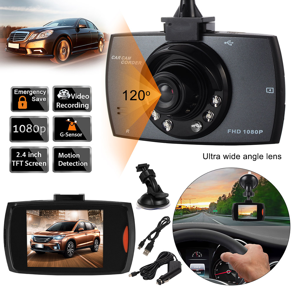 Original car dvr camera g30 full hd 1080p 140 degree dashcam video registrars for cars night