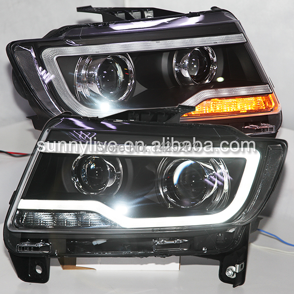 2011 2015 Year For Jeep Compass Led Headlights Headlamps