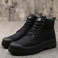 BACKCAMEL Genuine Leather Winter Keep Warm Plus Cashmere High Boots for Men Thicken Cotton Shoes Size38 44 Hot Sale Top Quality
