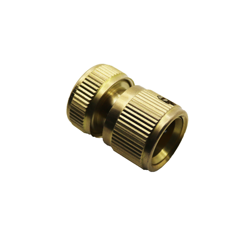 1pcs copper fittings through the water pipe quick connect for Copper water pipe connectors