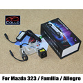 Laser De Alarme de aviso Da Lâmpada faróis de Nevoeiro Para Mazda 323/Familia/Allegro/Anti-Colisão Traseira Lanterna Traseira Acessórios Auto Neblina lâmpada