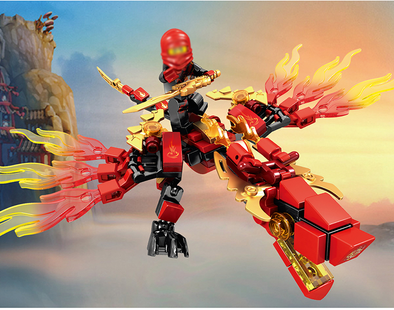 Ninjago Dragon Building Blocks 32