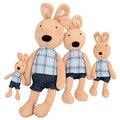45 см новый ле сукре куклы кролика с плед одежда плюшевого зайчика плюшевые игрушки прекрасные подарки для девочек детей цена от производителя NT027B