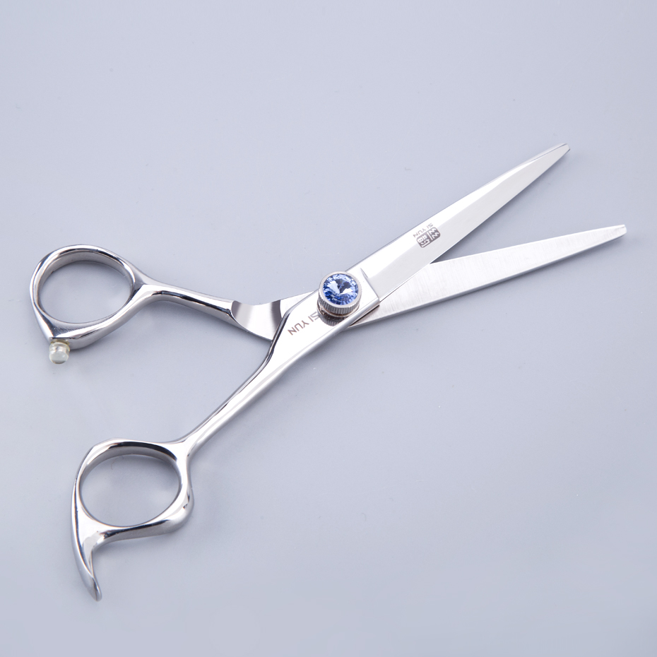 SI YUN 6 0inch 17 00cm Length HY60 Model Of Professional Shear Professional Hairdressing Scissor Hair Styling Tool Dropshipping in Hair Scissors from Beauty Health