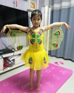 Image 5 - Nowa fantazja dziecko fantazja Halloween Infantil zwierząt skrzydła motyla karnawał dziewczyny dzieci motyl kostium